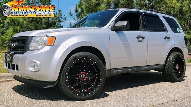 Rimtyme Spring Lake On Twitter 2012 Ford Escape Sitting On 20 Xf