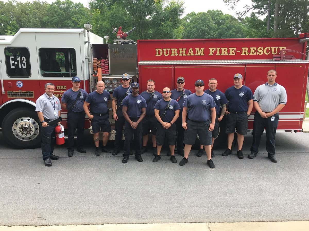 Durham Em On Twitter Safety Day Agbiome Asst Fire Marshals Brian