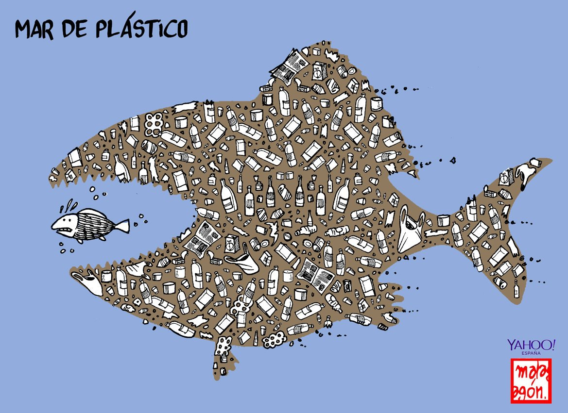 Mar de plástico #DiaMundialDelMedioAmbiente