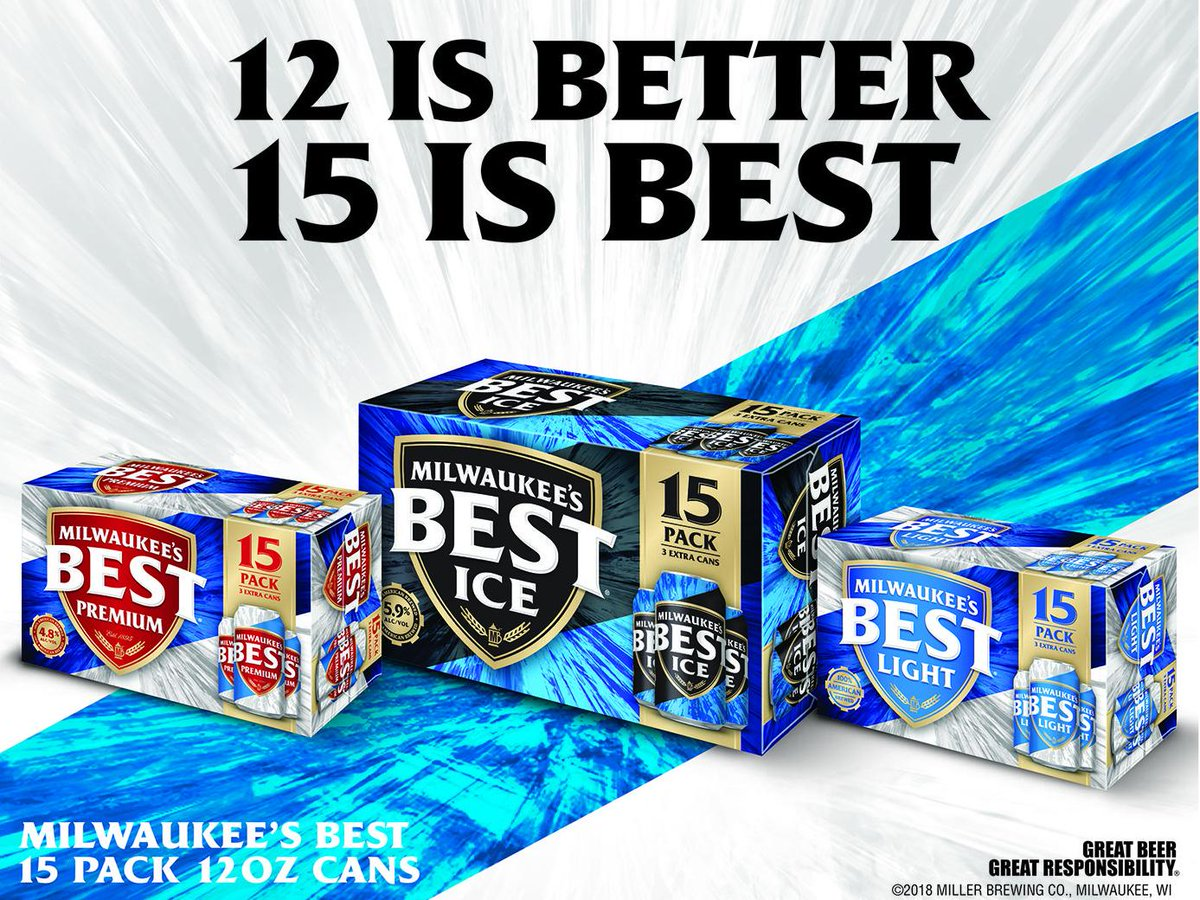 15 Packs Of Milwaukee S Best Premium Light And Ice Are Hitting Shelves Now Http Bit Ly 2lntvhg Pic Twitter Bi6518r0dc