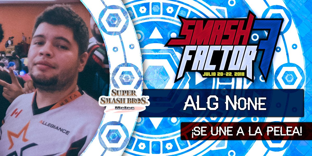 We are super exited that @n0ned a great friend of the mexican Smash Community and one of the top Captain Falcons in the world has confirmed his return to Smash Factor. Special Thanks to @TeamAllegiance for making this possible!