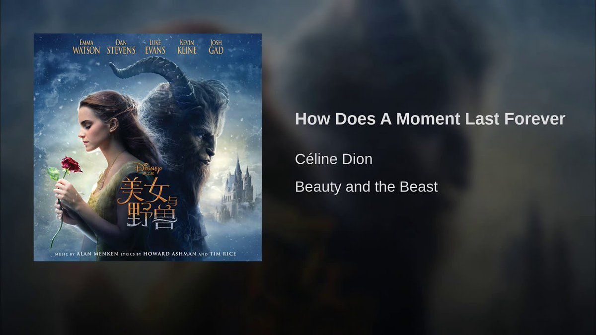 Celine Dion Italia On Twitter Youtube How Does A Moment Last Forever Https T Co S9tu7gskem