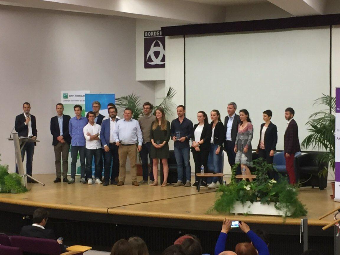 Merci à @Bdx_E ! Nous sommes fiers d'être la startup élue pour cette édition 2018 ✌🏻👍🏻 @Rhinov_ est fier d'être bordelaise 🤗 https://t.co/1b9SnjJk2F