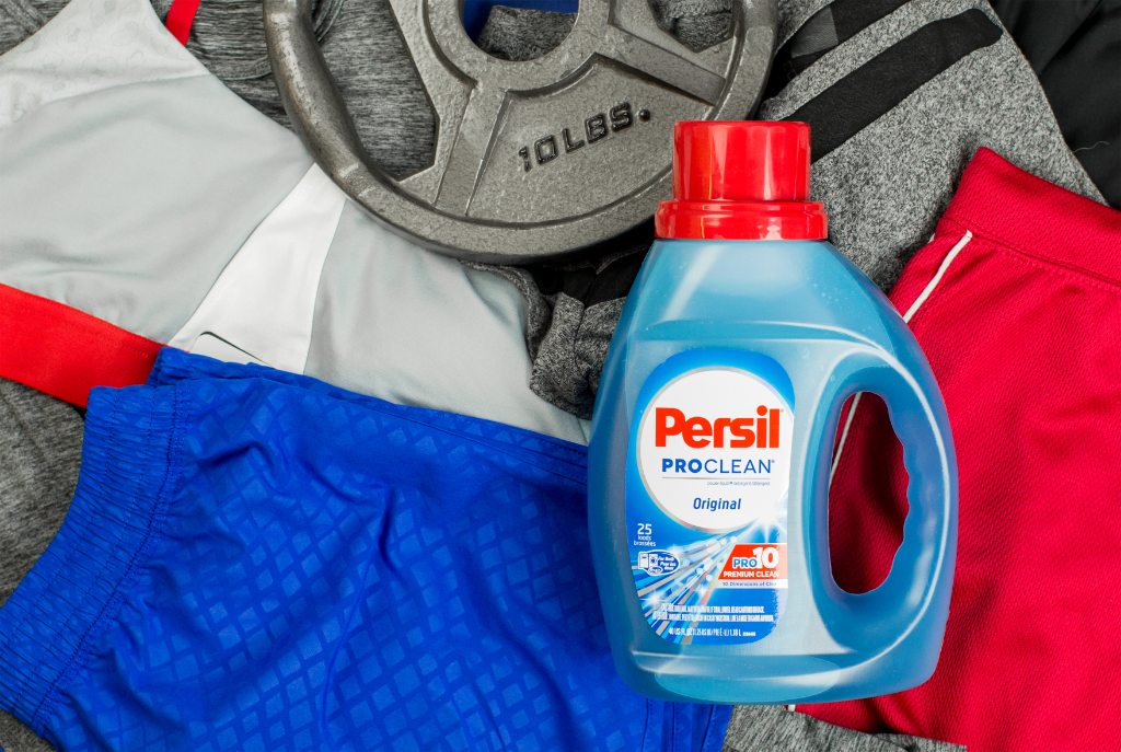 Powerful #workout? Meet powerful enzymes. Persil® ProClean® laundry detergent fights the odors in sweaty gym clothes. https://t.co/iToyX1Iz5W https://t.co/FWeiHzxDHJ