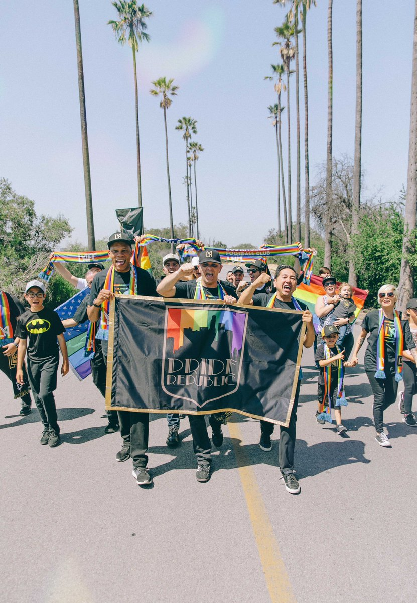 a5748579a5a A Club United. Pride Month Merch is now available at  LAFC HQ at   BancStadium and on the MLS Store.pic.twitter.com 3Ow5h2jSyJ. 3 21 PM - 5  Jun 2018