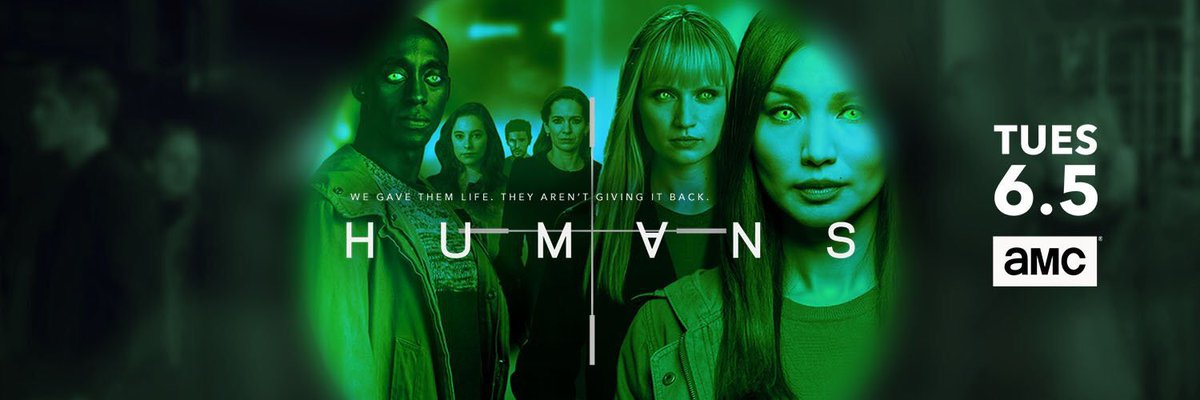 Watch out America - the highly anticipated third season of @HumansAMC featuring @Staz_NairTR premieres tonight 10/9c on @AMC_TV #Humans3