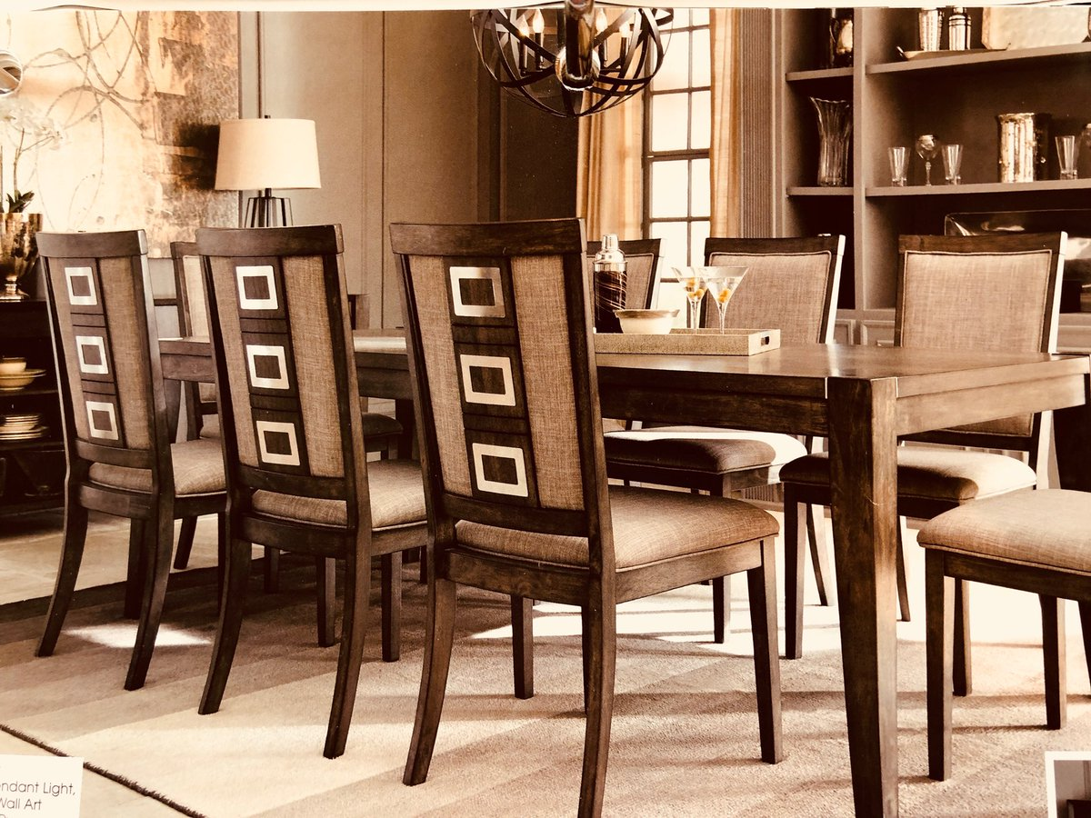 Furnished by farrah on twitter furnished by farrah invites you to check out this wonderful eight piece dining table w server