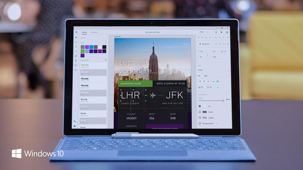 Design at the speed of thought with new #Windows10 pen and touch features in @AdobeXD See all the updates: https://t.co/pwzgVOpwbx https://t.co/8fAOkbW1MZ