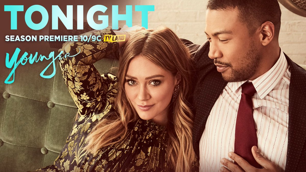 Season 5 premieres TONIGHT!! Can't wait for you guys to see it!!! #YoungerTV