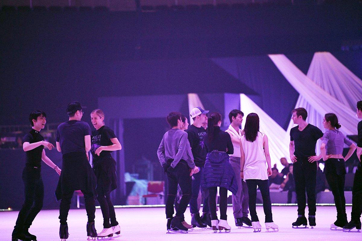 rehearsal di FAoI Yuzuru Hanyu