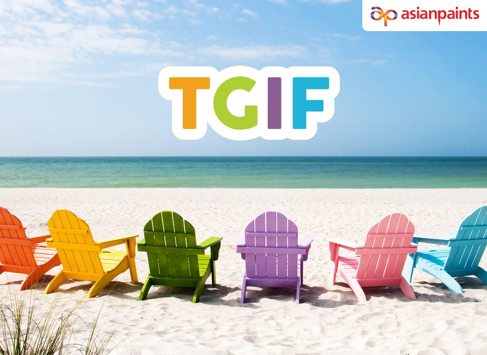 Oh what a glorious feeling it is when you get to the end of the week! What have you got planned for the weekend? #TGIF #fridays #weekend #weekendplans https://t.co/daGliycQX8
