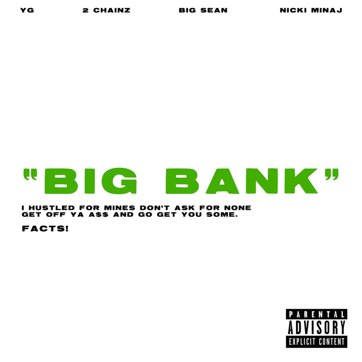 Listen: @YG Feat. @2Chainz, @BigSean & @NICKIMINAJ 'Big Bank' https://t.co/AD8kg3eJG9   https://t.co/qFdubGFJrZ