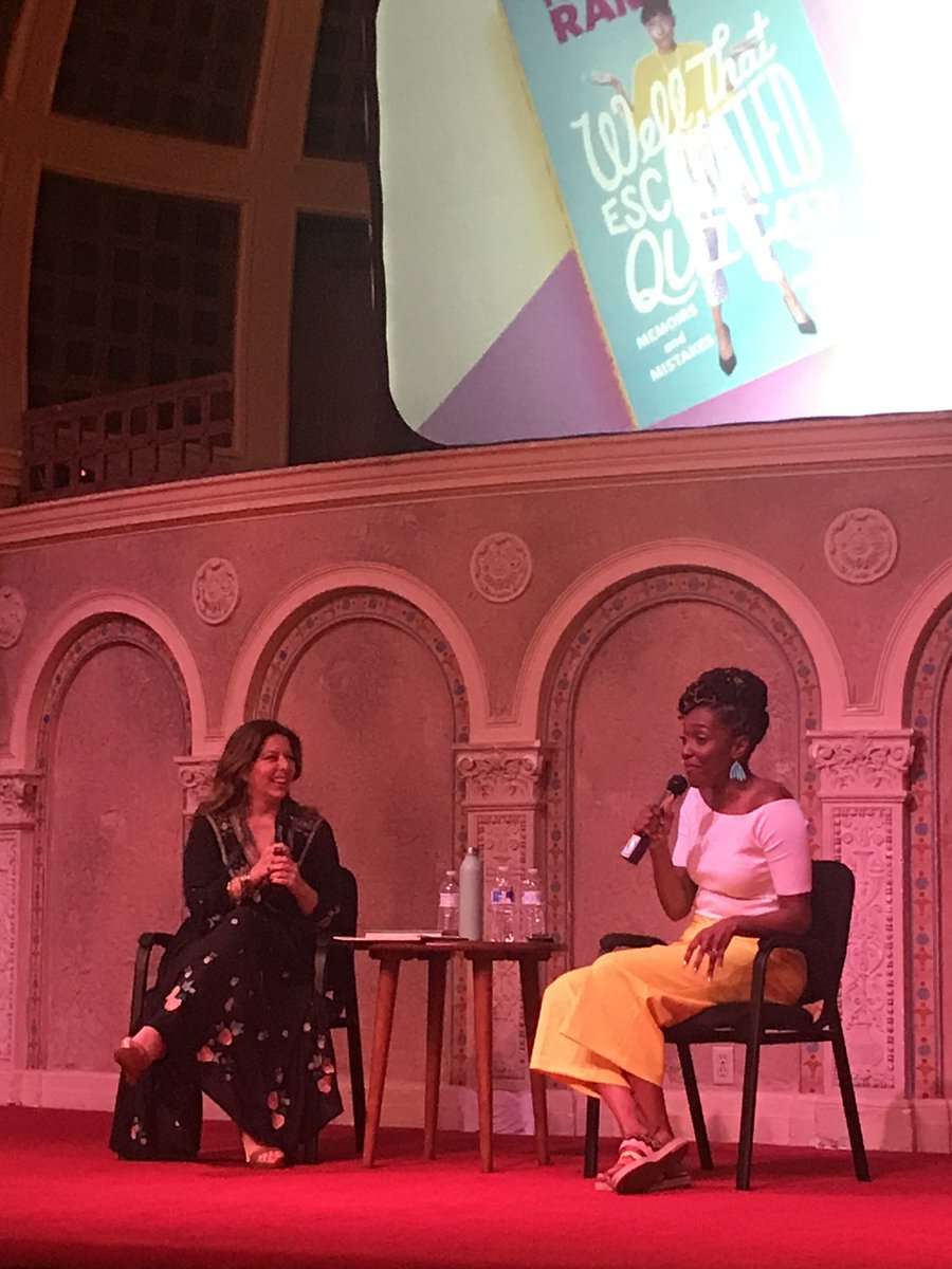 """""""The biggest lesson for me has been taking a moment to step away first and building a community for yourself that you can trust."""" @chescaleigh"""