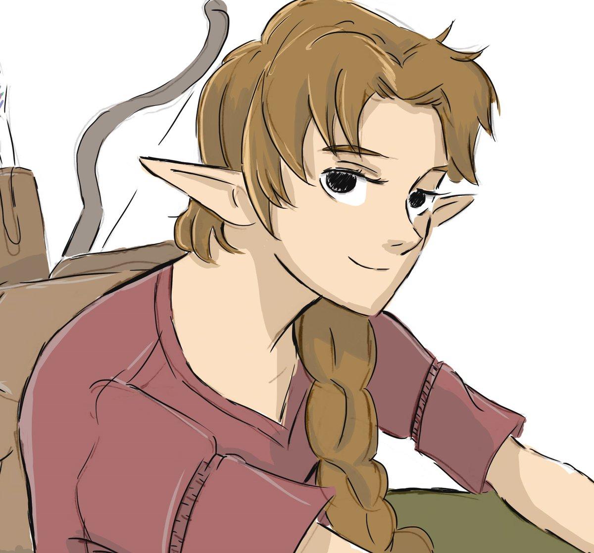 Archer Elf #desenho #ilustracao #ilustracion #ilustration #elf #drawing #brart #art #artistic #design<br>http://pic.twitter.com/CwogjZCw6M
