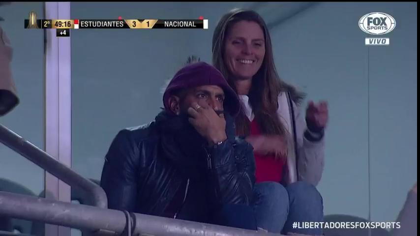 🇦🇷🇺🇾 O Verón, mano kkkkk #LibertadoresFOXSports