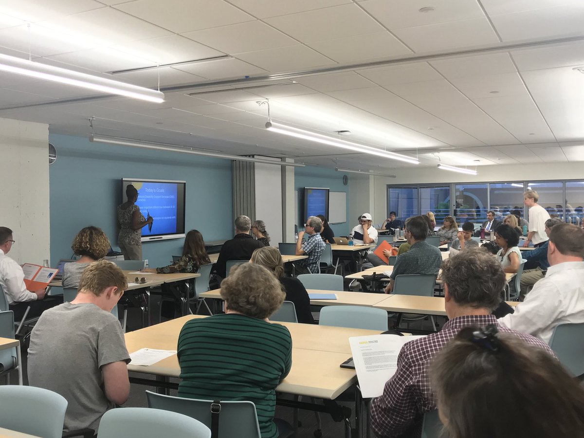 Great turn out for NOVA Dual Enrollment Considerations for Students with Disabilities  presentation. Thank you APS and NOVA staff <a target='_blank' href='https://t.co/IJZPWgxdic'>https://t.co/IJZPWgxdic</a>