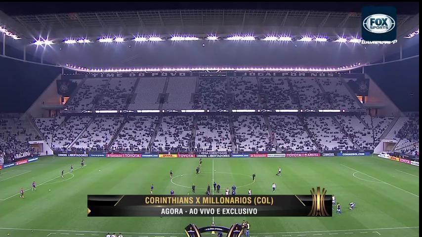 ⚫⚪ É LOGO MAAAAAAIS! @Corinthians vai enfrentar o Millionarios (COL) valendo o terceiro lugar geral da #LibertadoresFOXSports!  AO VIVO E EXCLUSIVO NO FOX SPORTS! Chega mais!