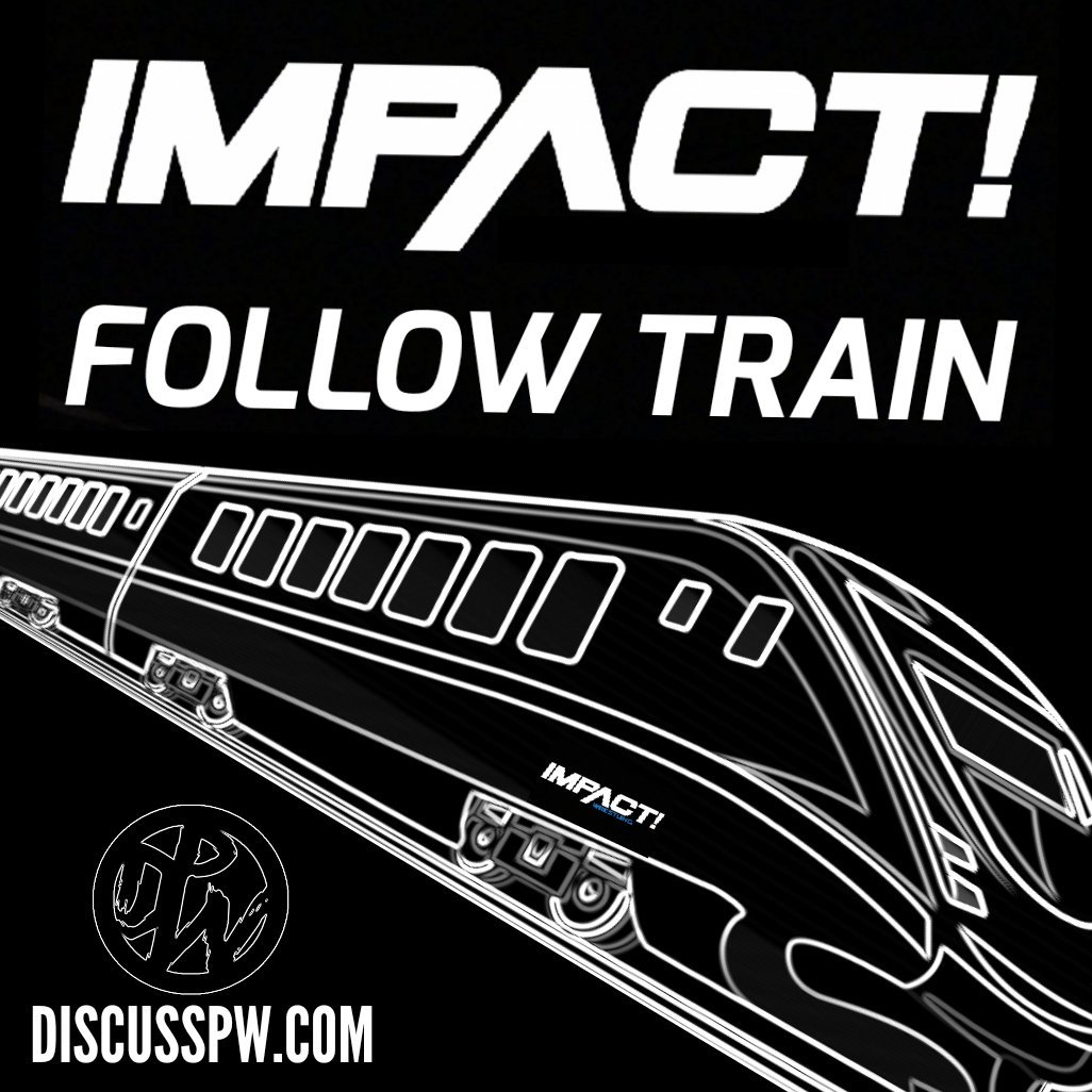 Impact Wrestling follow train.  Are you an Impact fan who wants to connect with more Impact fans?  It&#39;s simple, RT and like this tweet and follow whoever RTs.  Join the discussion over at  http:// discusspw.com  &nbsp;    WE ARE IMPACT FANS CHOO &amp; CHOO.  #IMPACTonPop #ImpactWrestling <br>http://pic.twitter.com/2t9yQxY5A5