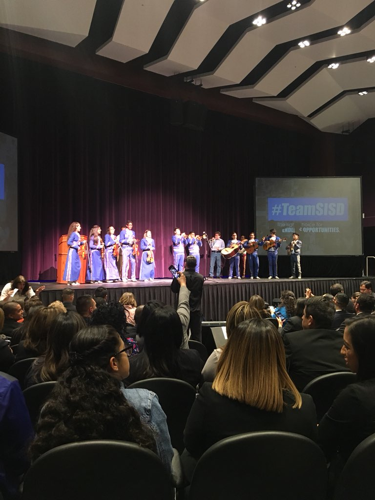 The data speaks for itself at the State of the District address. #TeamSISD is the best choice for our kids! #EndlessOpportunities<br>http://pic.twitter.com/7Cl5MbR5ub