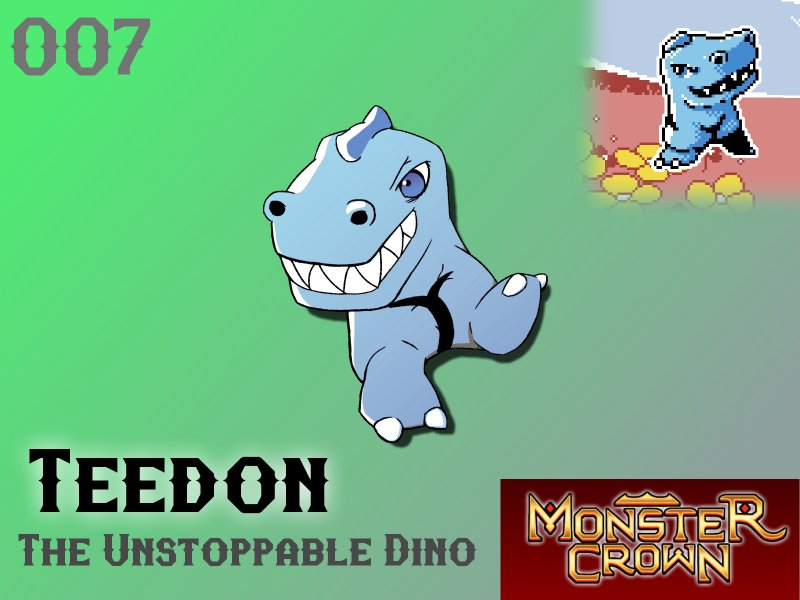 Monster of the Week! Teedon  &quot;Teedon attack with their large jaws, snapping shut on foes. Any attempts to shake...&quot;  https:// buff.ly/2s6Fdjn  &nbsp;    #gamedev #indiedev #gaming #pcgaming #pixelart<br>http://pic.twitter.com/vASVwPyxva