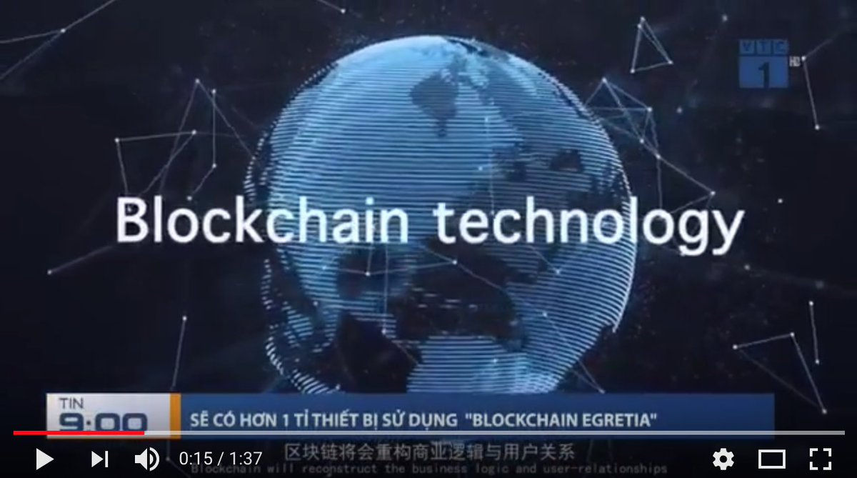 Did you notice it? Yes that&#39;s us! Egretia were on Vietnamese TV and VTC 1 conducted an in-depth report about us on their &quot;9:00 AM News&quot;! Link:  http:// bit.ly/2Lu2zY8  &nbsp;   #blockchain #egretia<br>http://pic.twitter.com/jRYmlJPBBs
