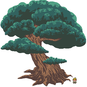 I&#39;m proud to show off some of these environmental art assets for Tribus! What do you guys think? #pixelart #gamedev #indiedev #gamemaker<br>http://pic.twitter.com/p27ScmxamK