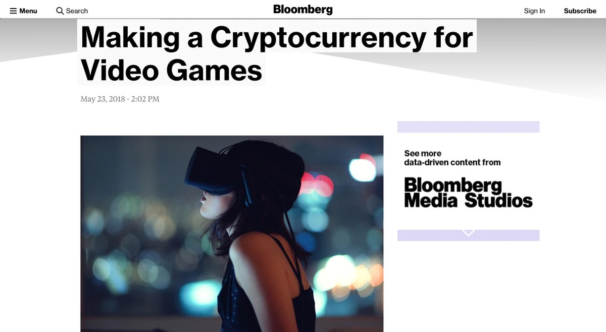 Egretia is on Bloomberg! Check this link out to learn more about our project!  https:// bloom.bg/2x6b9Jn  &nbsp;   #egretia #blockchain <br>http://pic.twitter.com/Z7Z8nAlXgq