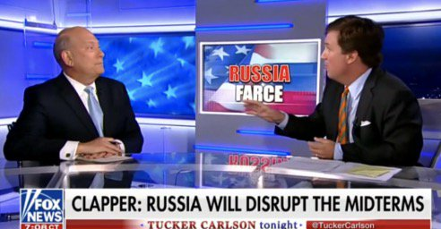 Tucker Carlson Battles Ex-Clinton Aide Over Voter Fraud: 'Democrats Like Loose Voting Rules'https://t.co/sNrqGpHg5G