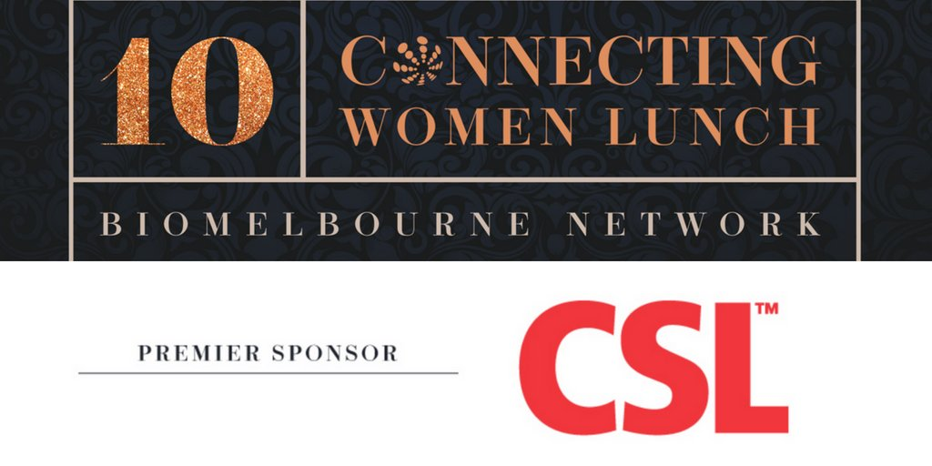 Huge thanks to our Premier Sponsor, @CSL. CSL is at the frontier of #healthcare #innovation &amp; advocacy for gender equity &amp; #diversity in #STEMM. We are proud to have them on board today! #biomelbwomen #WomeninSTEMM #WomeninLeadership #WomeninBiz<br>http://pic.twitter.com/l52btIOKwu