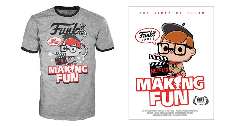 RT &amp; follow @OriginalFunko for the chance to win a #MakingFunTheMovie Pop! Tee and Poster!<br>http://pic.twitter.com/AXRP3YtMgg