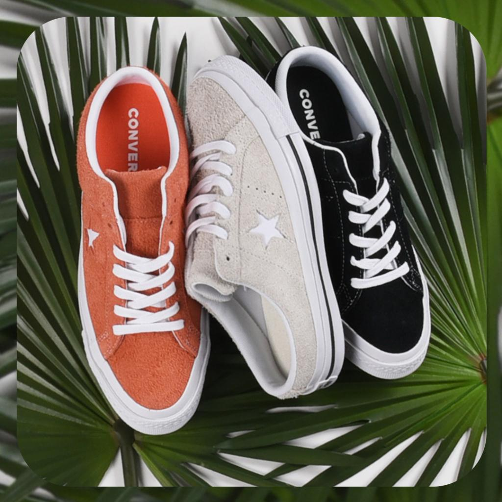 26b4fba1e21 Ladies these are the perfect One Stars for summer! Available in 3 cute  colors!  Converse One Star Mule available in-store and online  http   bit.ly 2GNPzZU  ...