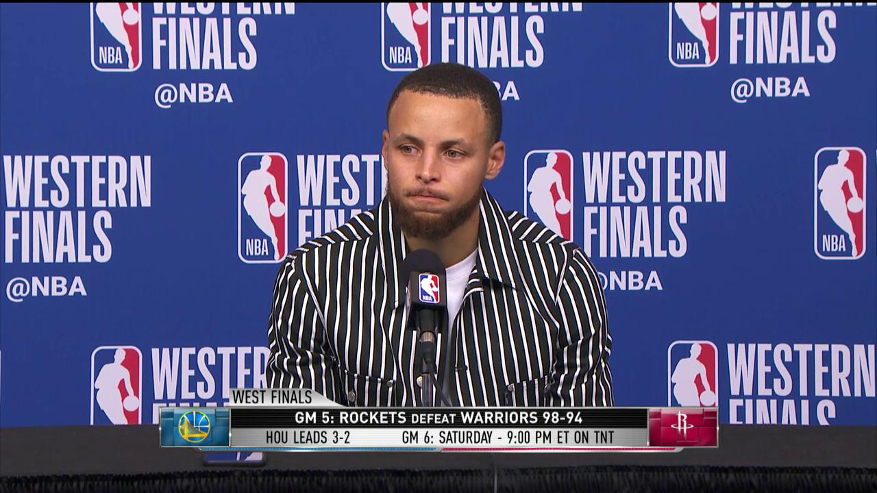 'If you can shimmy on somebody else, you gotta be alright getting shimmied on.' - Steph ��  #GameTime https://t.co/iKgneLfR4u