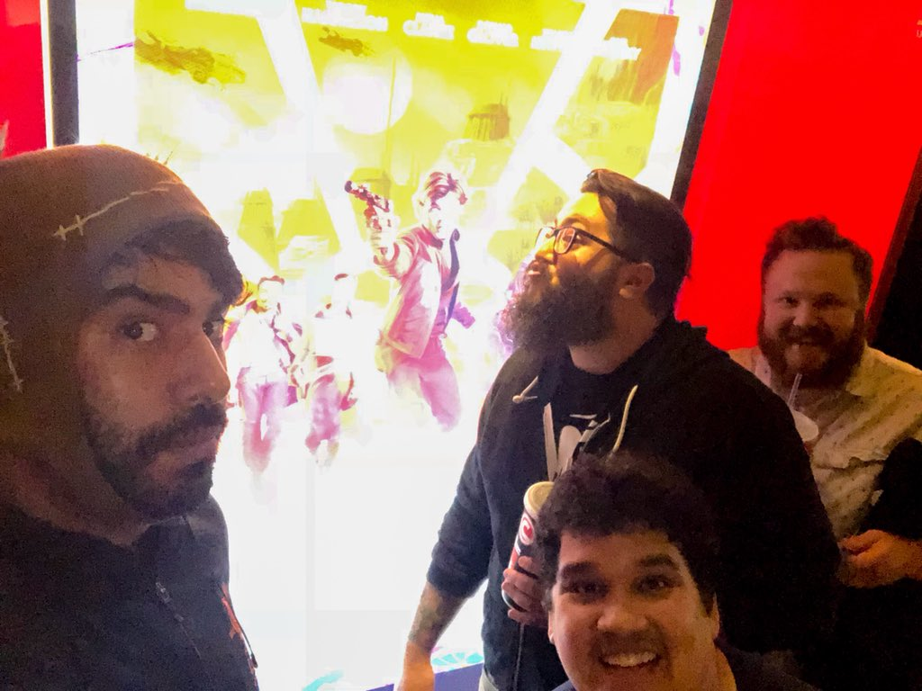 Rahul Kohli's photo on #SoloAStarWarsStory