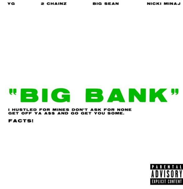 Listen to @YG's 'Big Bank' featuring @NICKIMINAJ @BigSean and @2chainz now  https://t.co/klKp6bqbbR https://t.co/GA40om69R5