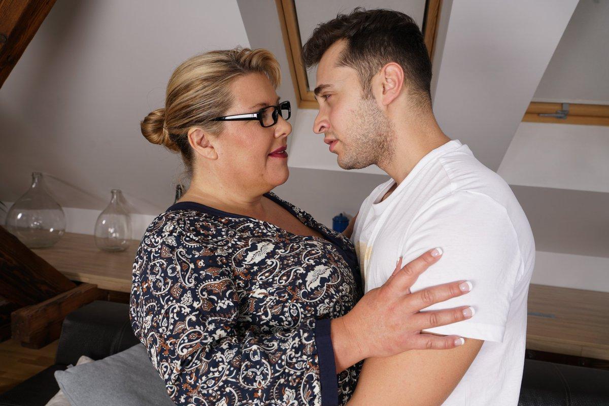 Mom takes sons big cock