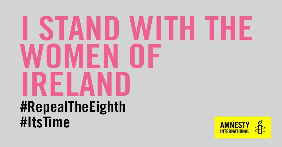Good morning Ireland. Please vote Yes to #Repealthe8th https://t.co/JO48RX4f8j