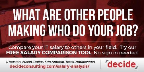 job comparison tool