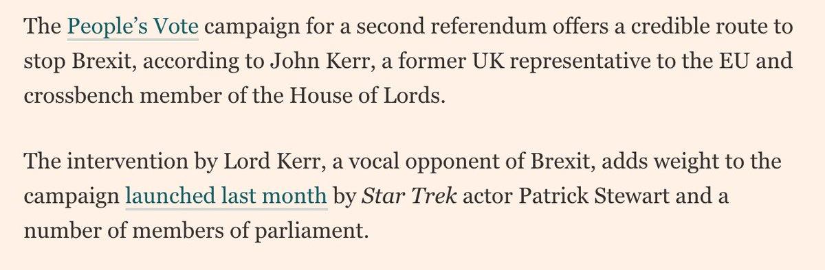 People's Vote UK's photo on Kerr