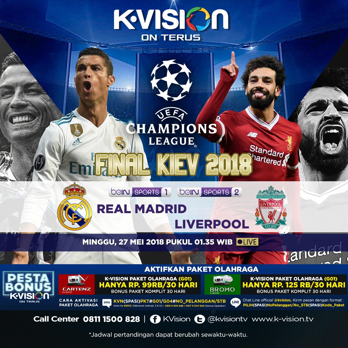 Jual Paket Sport Kvision C Band Bromo Termurah 2018 Mdl 038g Digital Voltmeter 036 Dc 47v 32v 2 Kabel Nyala Biru On Twitter Tinggal Dua Hari Lagi Final Liga Champions Akan