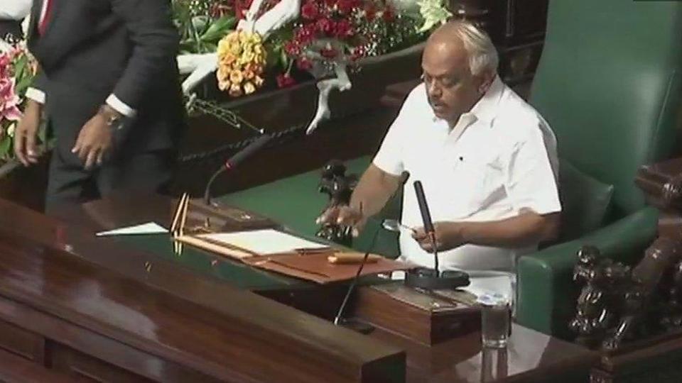 Congress' Ramesh Kumar begins second stint as #Karnataka assembly Speaker https://t.co/8kw9HedPlo