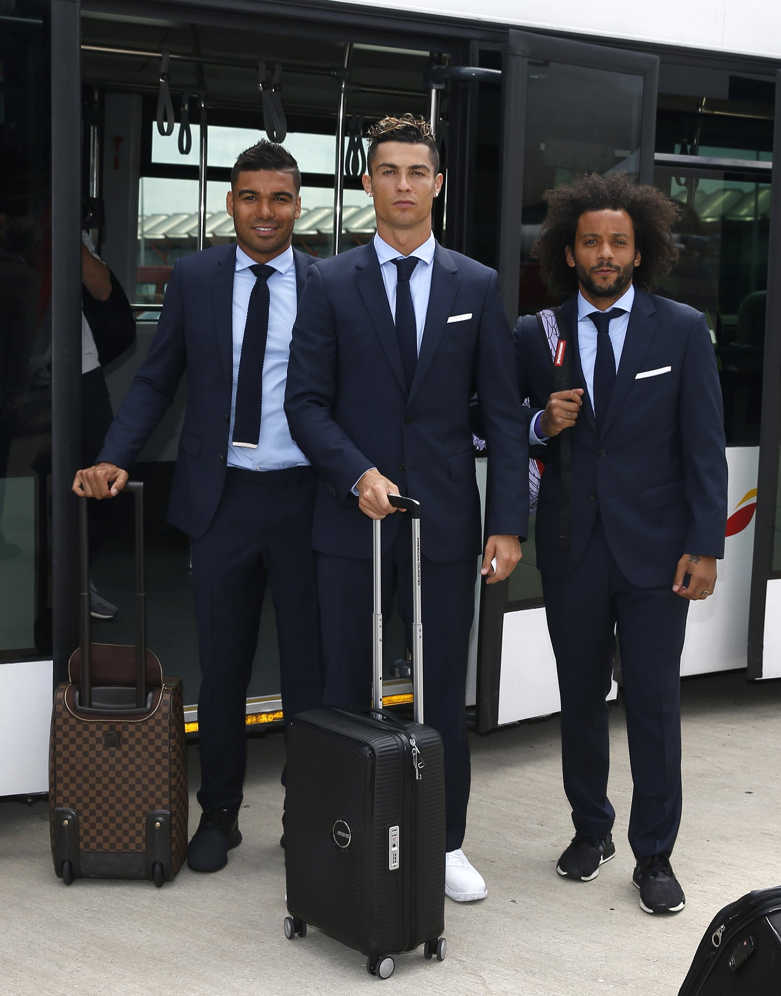 Real Madrid ready for business ��  #UCLfinal https://t.co/1RhN8h3OeR