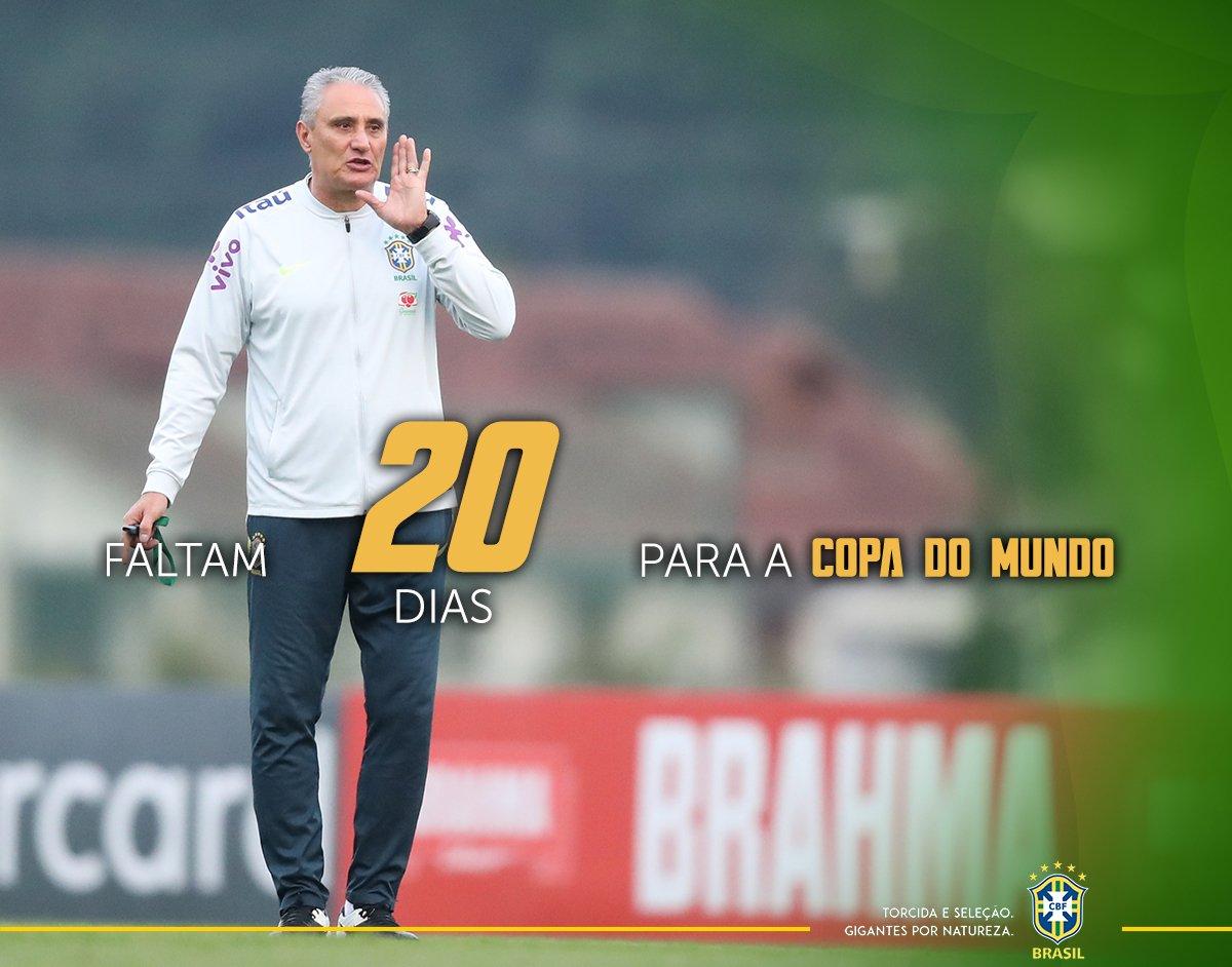 Feliz aniversário, professor! ▶🇷🇺 #GigantesPorNatureza #SeleçãoBrasileira #WorldCup