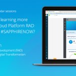 Your #DigitalTransformation triggers demand for #apps to deliver new customer experiences & improve business efficiency. Mendix's @sapcp RAD service is a key solution to harness this transformation. Join @Hans de Visser & @Yoram Hod at #SAPPHIRENOW: https://t.co/BCHXiBsl9P
