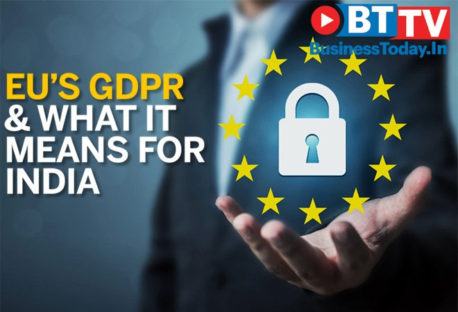 #EU's General Data Protection Regulation, has come into effect. It gives  citizens new rights over their personal . W#dataatch 's https://t.co/j1fw0zomvGvideo to know more about  an#GDPRd what it means for India   https://t.co/NOnP0F4H66@IndiaToday@aajtak