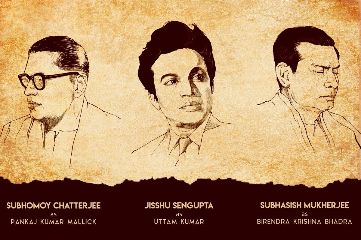 """nideas on Twitter: """"#Mahalaya is based on the controversial change in 1976  that 'Mahishasura Mardini' aka 'Mahalaya' went through as Bengal's matinee  idol Uttam Kumar replaced legendary Birendra Krishna Bhadra.  @prosenjitbumba @Jisshusengupta @"""