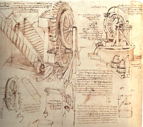Drawings of Water Lifting Devices Leonardo da Vinci  c.1481; Biblioteca Ambrosiana, Milan, Italy #viernesdearte #EarlyRenaissance #design #architecture <br>http://pic.twitter.com/8I16TTpHLx