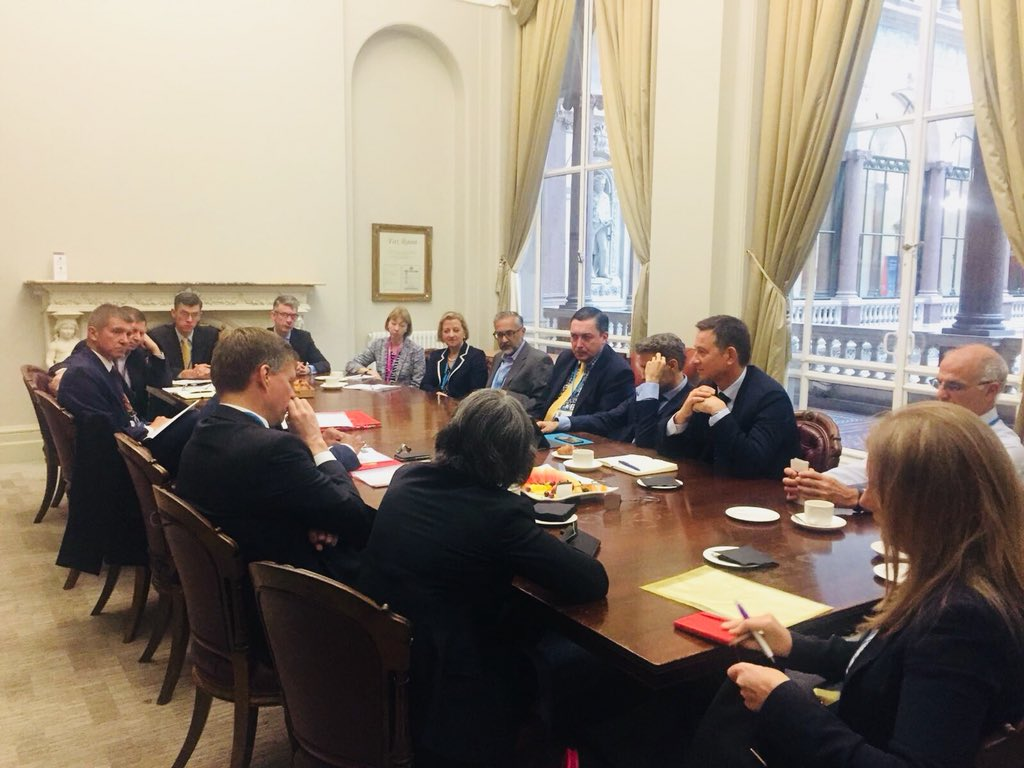 Freedom of Religion or Belief is a key priority for the UK. Great meeting today of some of our leading diplomats from around the world 🌎 to discuss how we strengthen our work to promote religious freedom and tolerance. #FoRB