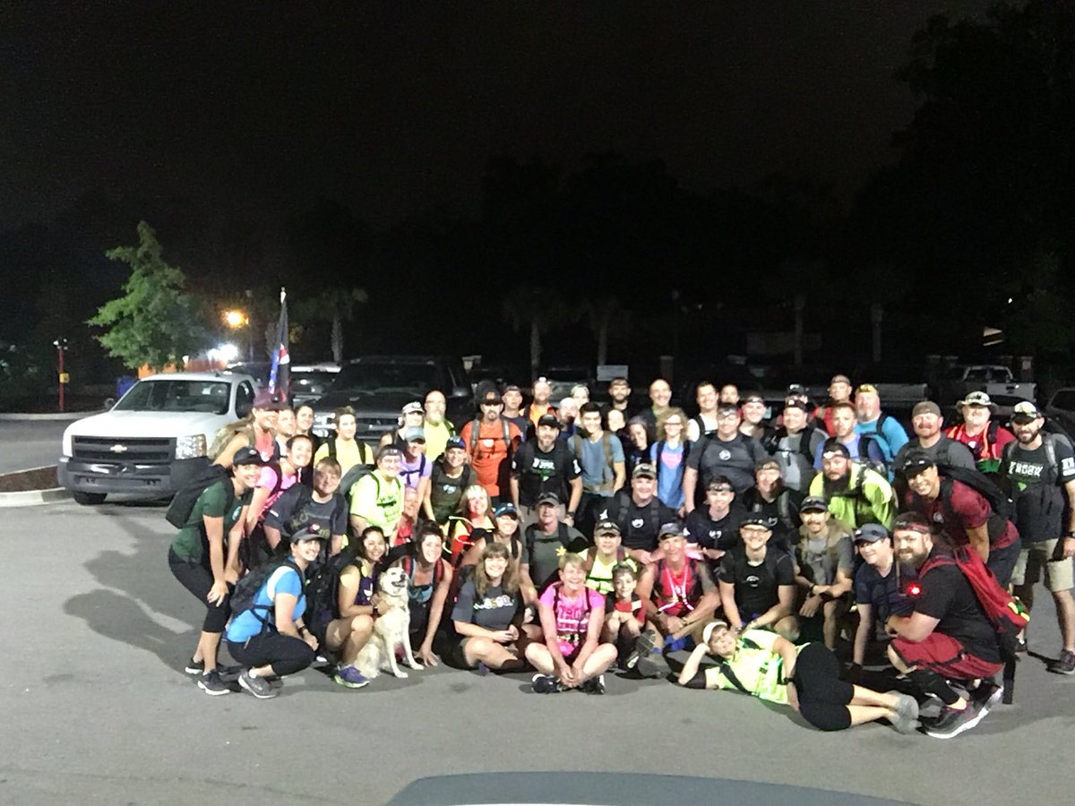 PRT Lexington Ruckers Out At 430 AM And 59 Strong To Earn Our Ruck Club Patch Ruckclubcallout Groupruck Goruck TeamSH NazRuckers