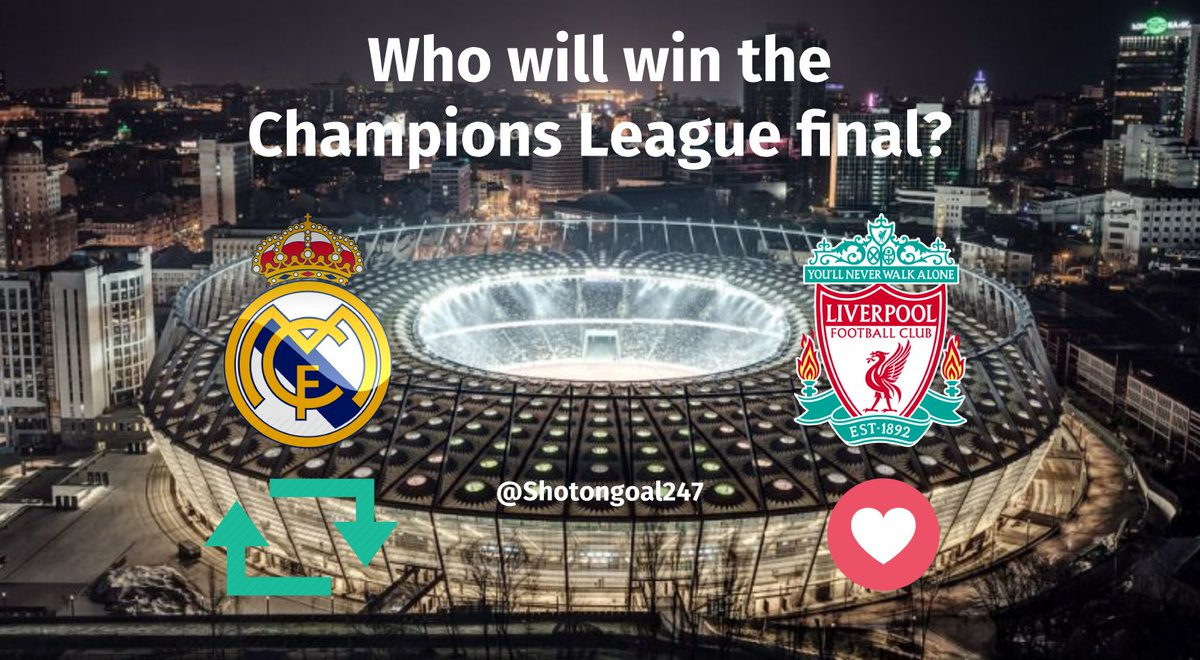 ShotOnGoal's photo on #UCLFinal2018