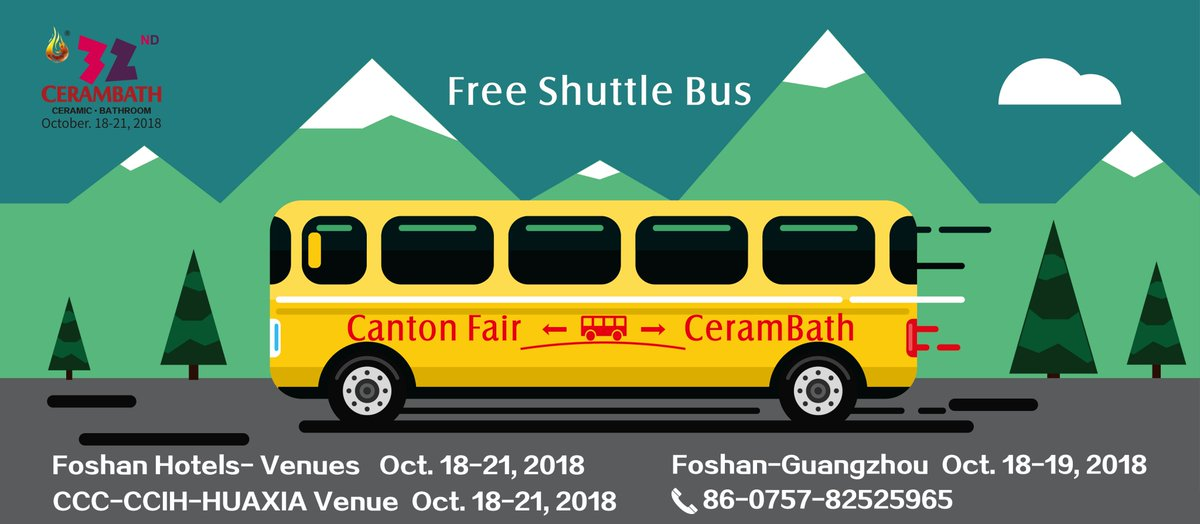 #ceramic #bath Second Edition of @CeramBath 2018 Rush for the Show!!! Meet the Industry and have exposure at one platform https://t.co/eok2bMZ3S1